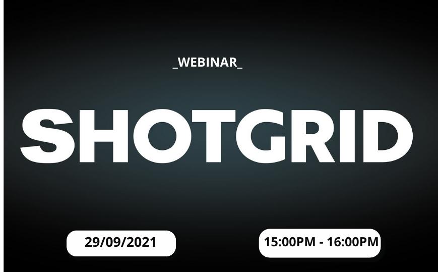 E-Workshop: ShotGrid - Future of Creative Cloud Production