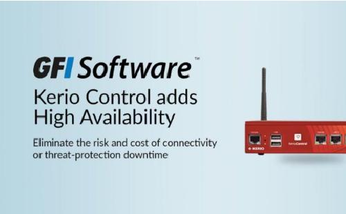 Kerio control nay đã có thêm tính năng ha ( high availability )