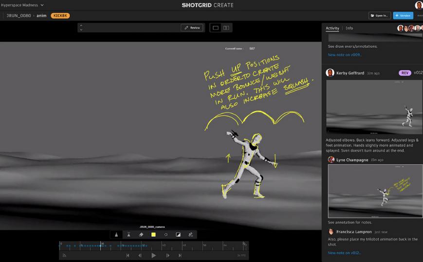 ShotGrid- Phần Mềm Quản Lý Dự Án Sáng Tạo Về Films, Games